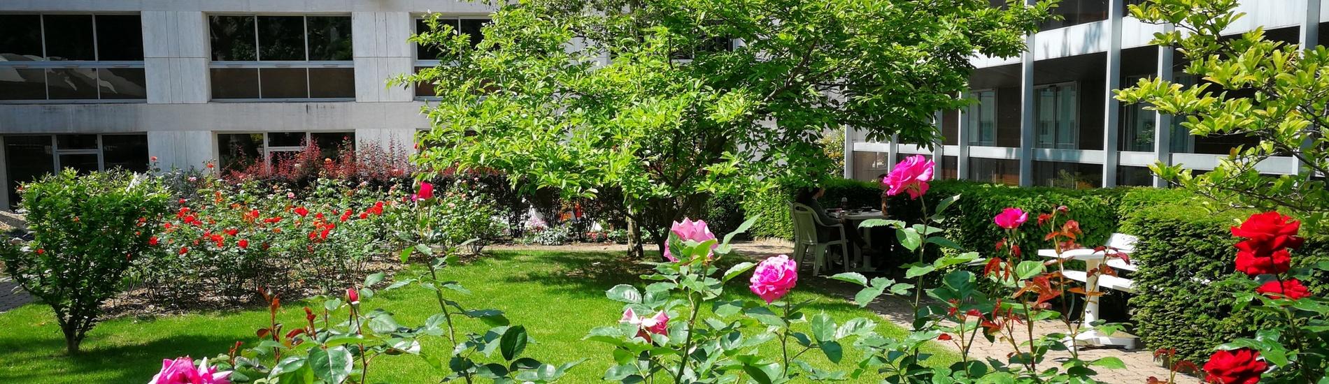 Un jardin privatif